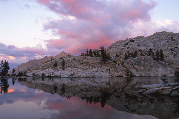 Unnamed lake, Sequoia National Park
